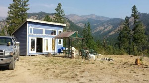 Our cabin in Chelan.