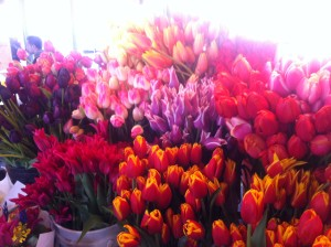 Forget the supermarket. Find beautiful bouquets at the Farmer's Market.