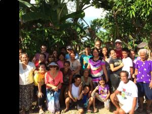 My family in Carigara.